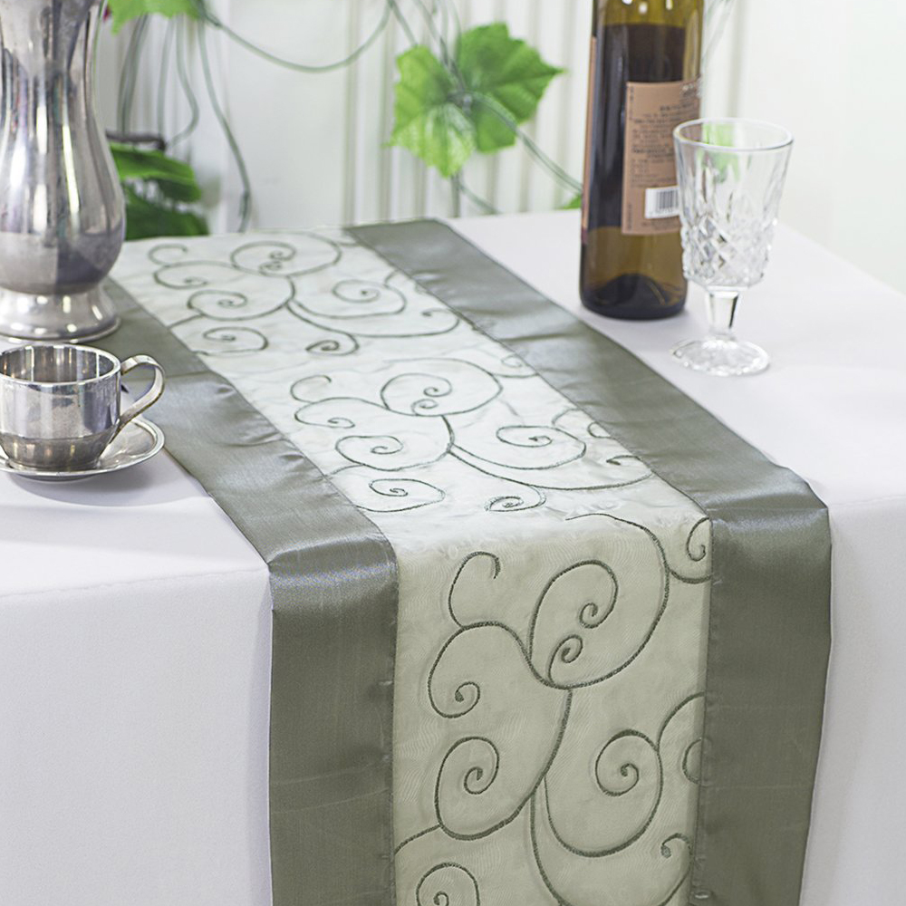 Embroidered Table Runners