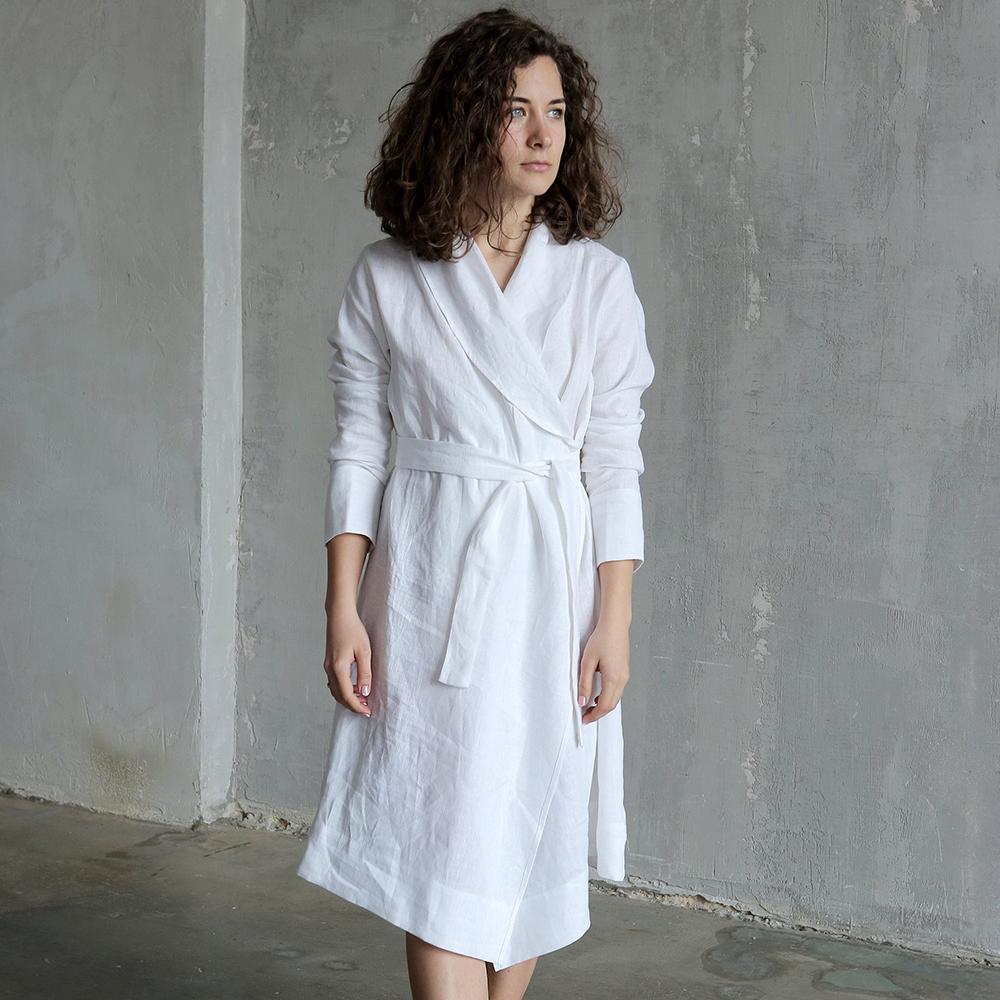 Linen Bathrobes