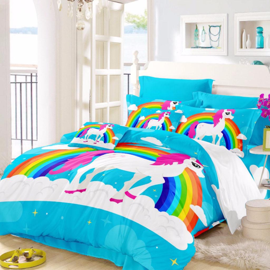 Panel Printed Comforter Sets
