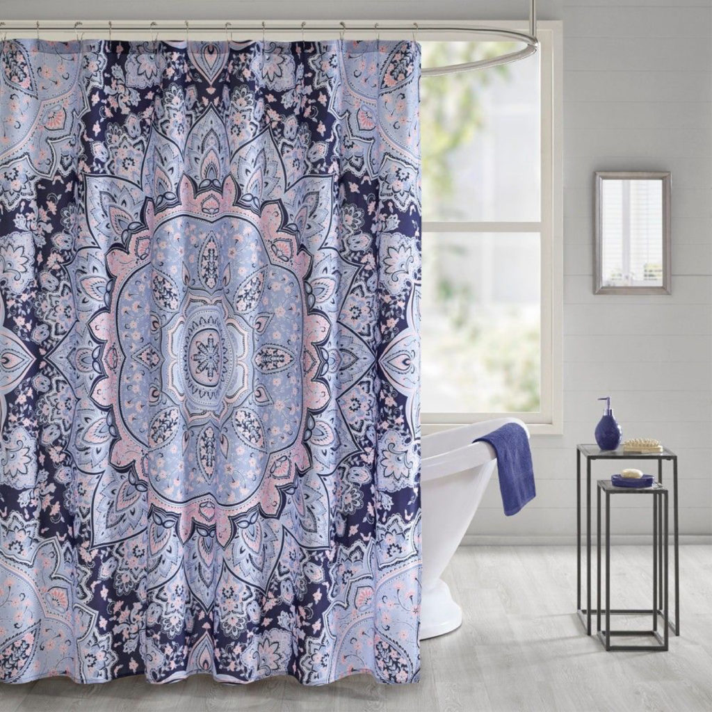 Panel Printed Shower Curtains