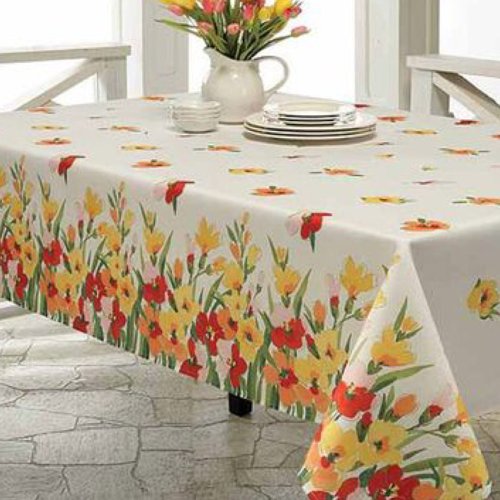 Panel Printed Tablecloth