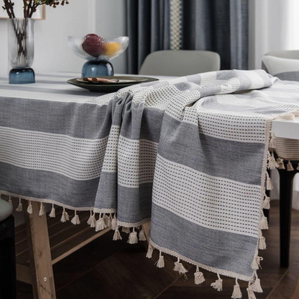 Yarn Dyed Tablecloth